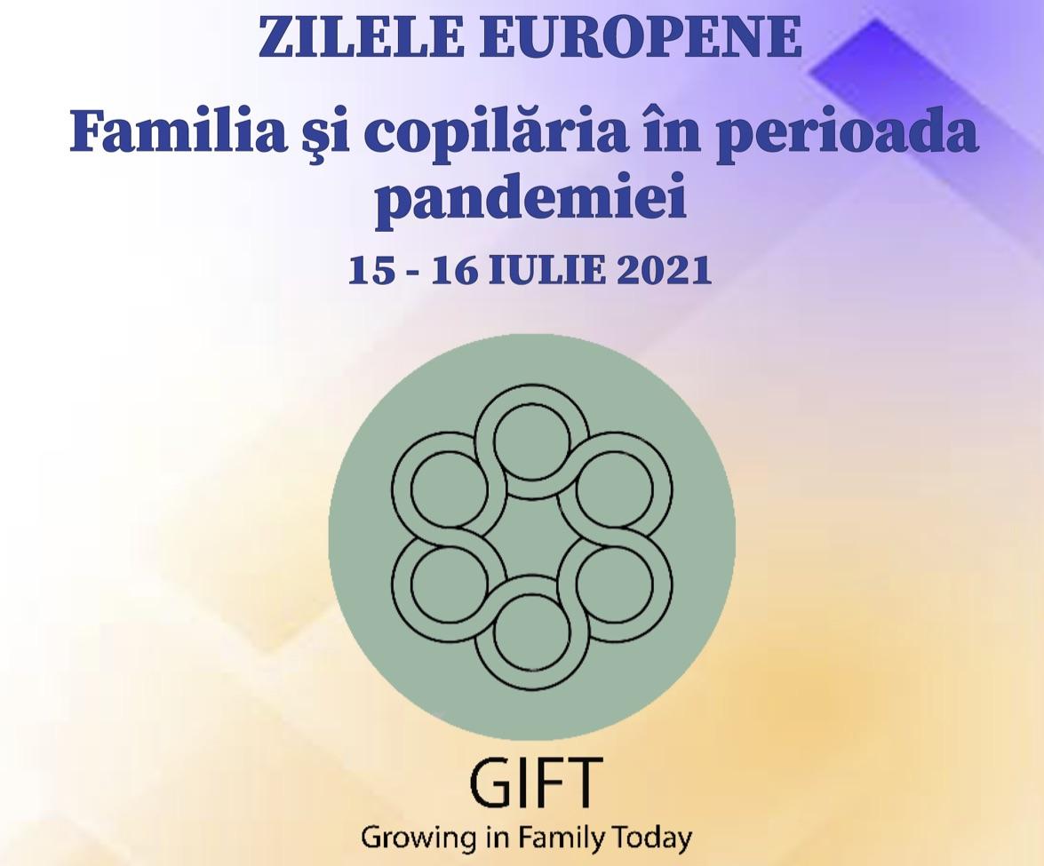Giornate europee progetto GEFA GIFT: 15 e 16 luglio 2021, da Iasi (Romania)