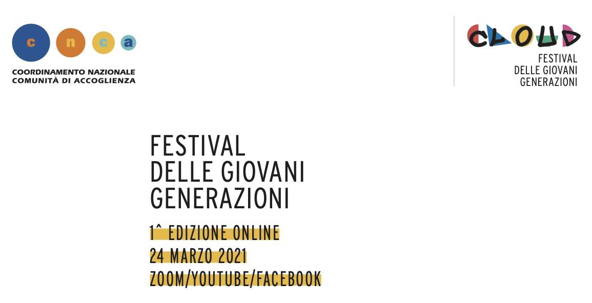 Festival delle giovani generazioni: online il 24 marzo 2021