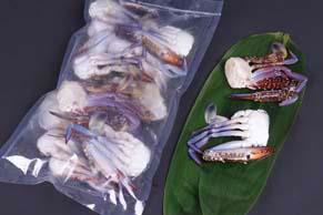 ワタリ蟹 足