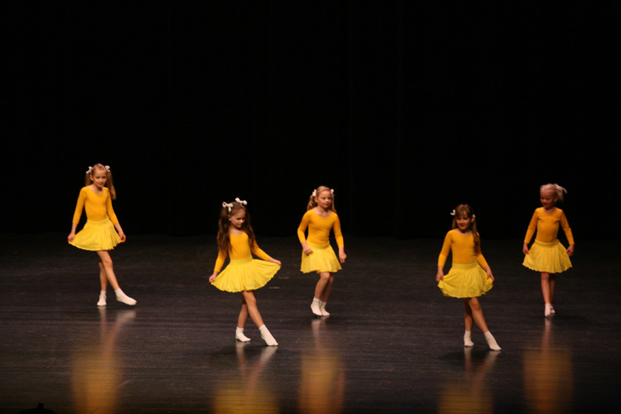Kinder Jazz Dance.