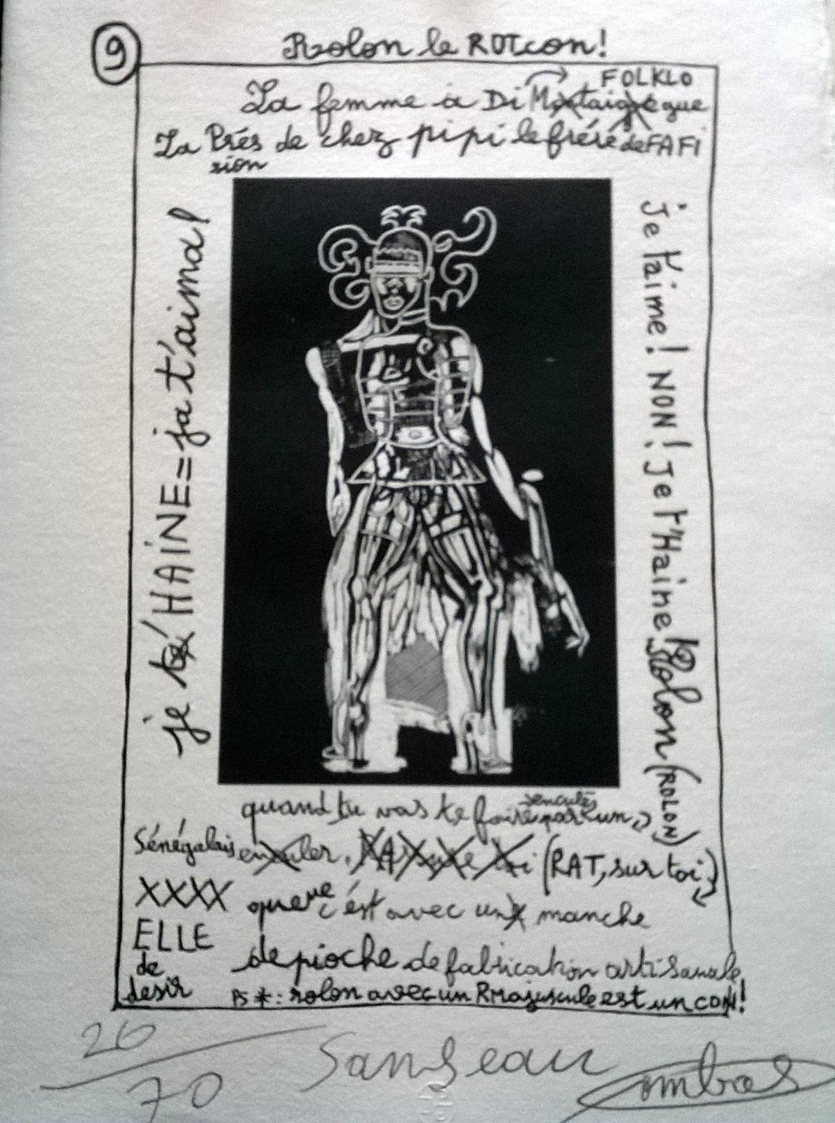 Estampe signée par l'artiste - 59,5 x 35 cm