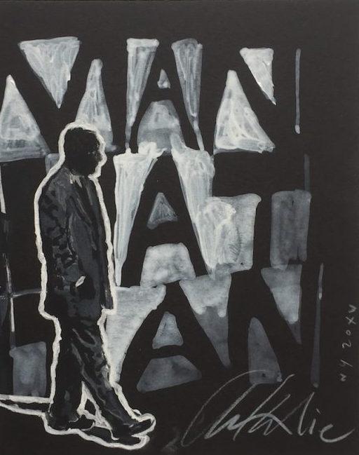 Sérigraphie, 2015, tirage limité 100 exemplaires, 50x60 cm