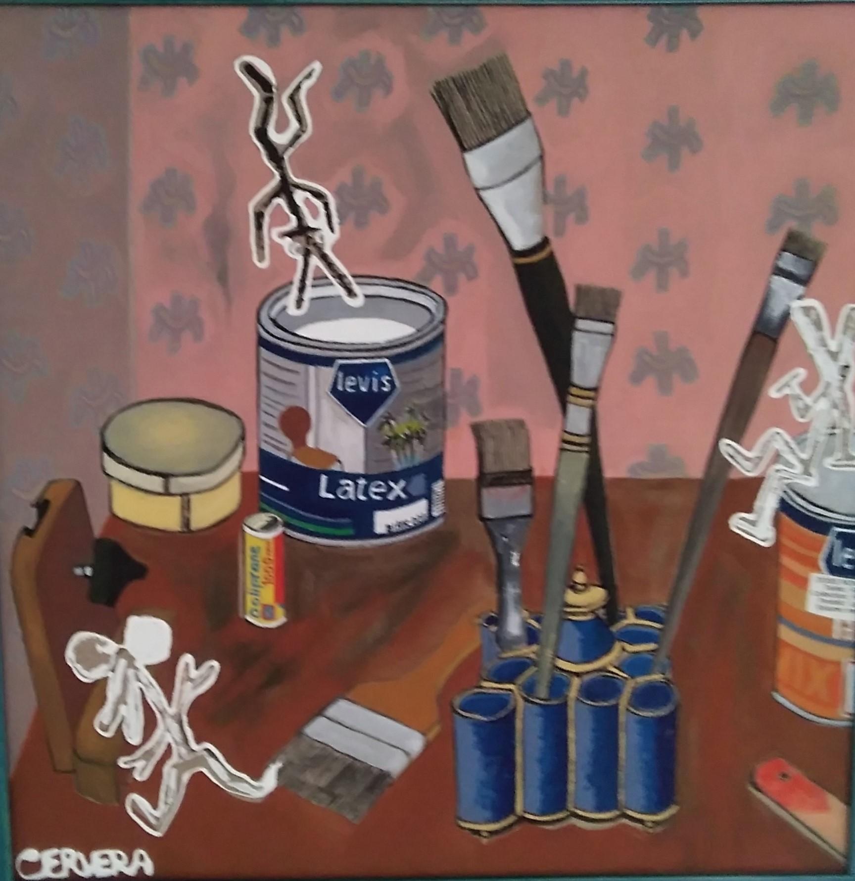 Pot de peinture - 50x50