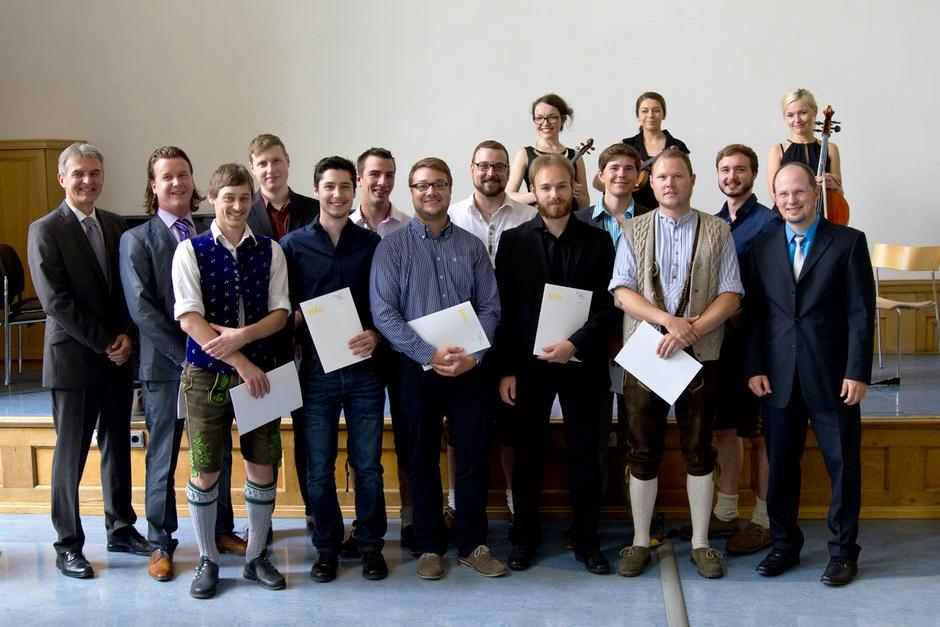 Abschlussklasse der Druck- und Medientechniker 2015