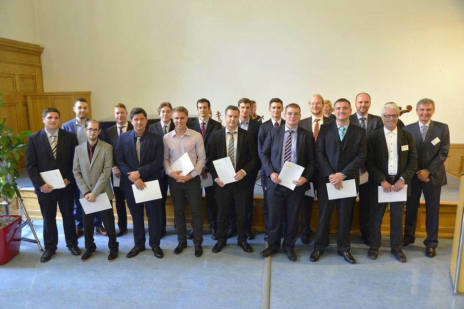 Abschlussklasse der Papiertechniker 2014