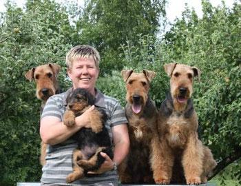 Airedale Terrier Von Der Dornheide Airedale Terrier Dornheides Webseite