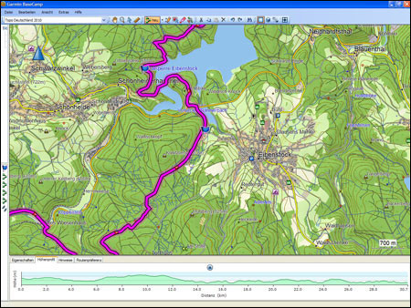 Digitale Karte Garmin Topo Deutschland