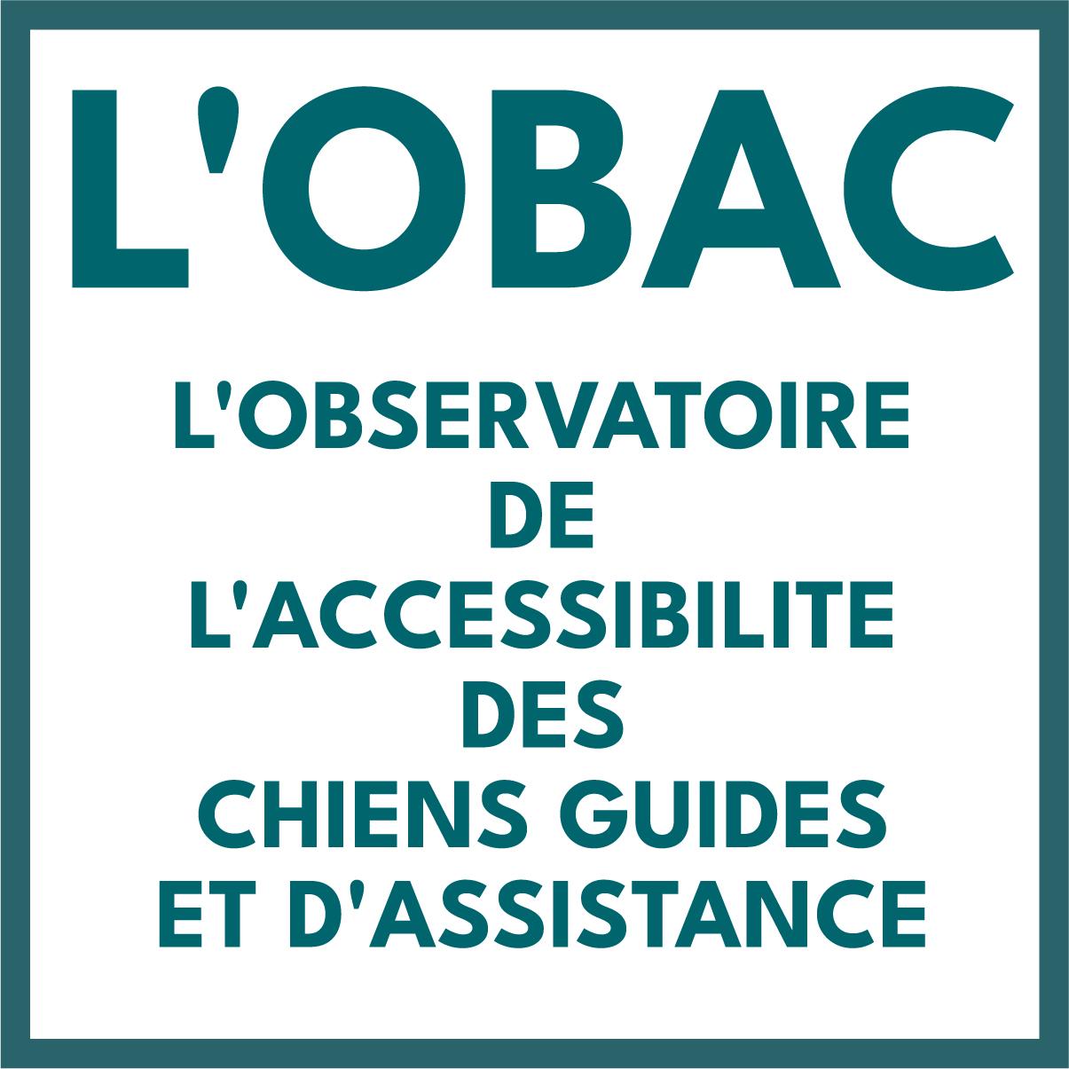 L'OBAC : l'observatoire pour l'accessibilité des chiens guides et d'assistance