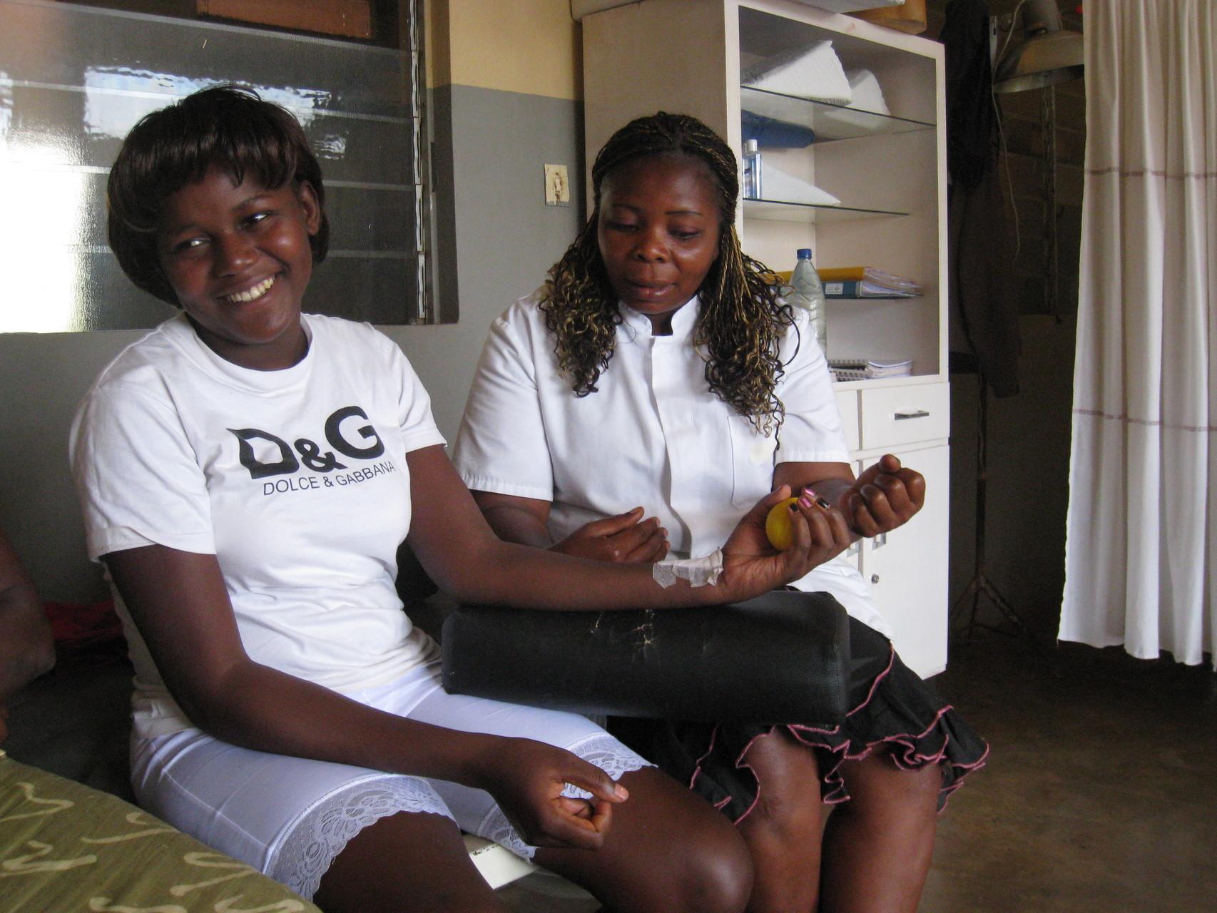 Kinésithérapie à Mbouo