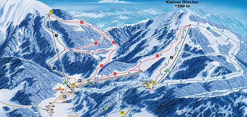 Skigebiet Ötscher-Lackenhof   (ca 20 Min. Fahrzeit)