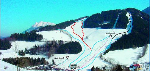 Skigebiet Maiszinken   (10 Min. Fahrzeit)