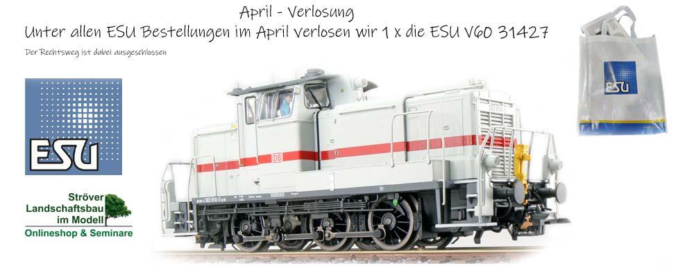 April Verlosung - ESU V60
