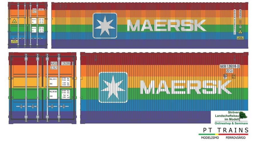 Neue PT TRAINS Container und Set für Juli-August