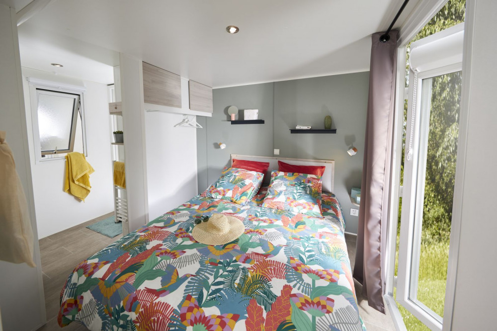 Camping Quend-Plage - Baie de Somme - Fort-Mahon - Location Mobil home - location insolite