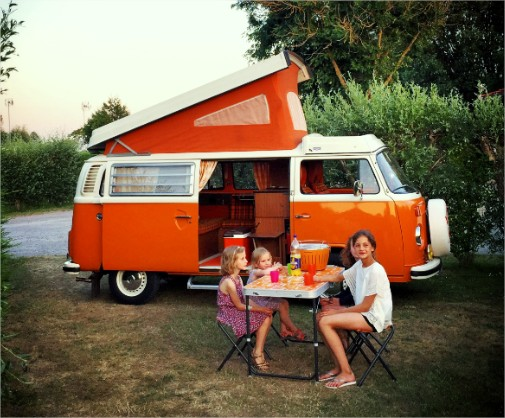 Camping Quend-Plage - Baie de Somme - Fort-Mahon - Location Mobil home - location insolite - Emplacements caravanes tentes camping-cars