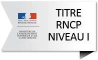 Logo titre RNCP Niveau 1