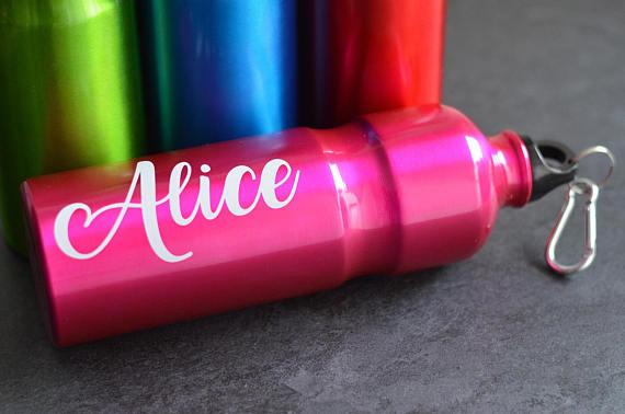 Bottiglia in acciaio personalizzabile