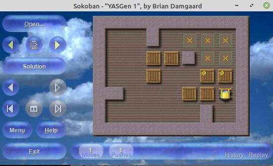 Sokoban YASC 1.664 has been published