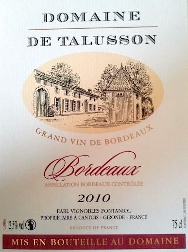 Bordeaux 2010