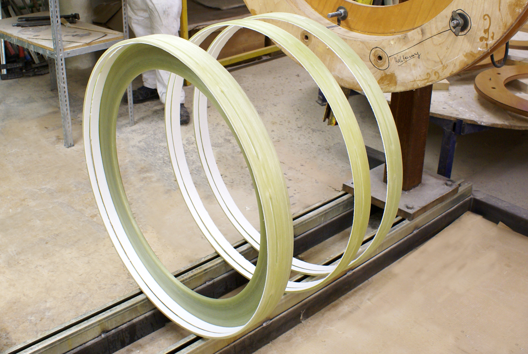 rings during processing