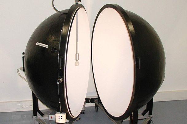 light calibration ball