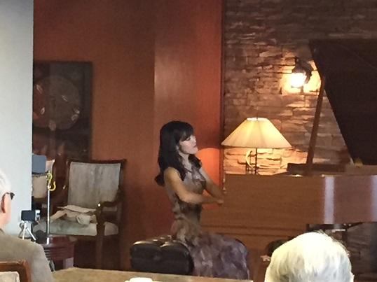 1時間のトーク付きピアノカフェコンサート、お楽しみいただけたようで嬉しいです。(奈良・パルムドール2019年11月)