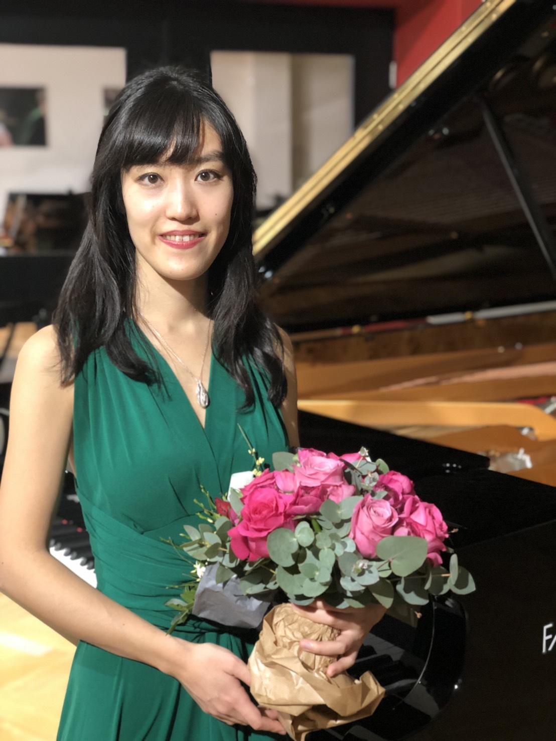 ドイツ・ミュンヘンのピアノ・フィッシャーでのピアノリサイタルにお越し下さった皆様、ありがとうございました!(Piano-Fischer München, 2019年1月)