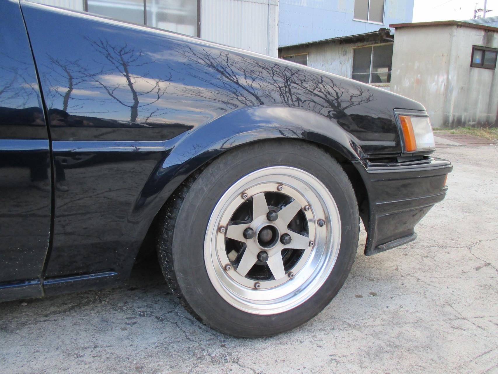 AE86中古車 フロント車高調