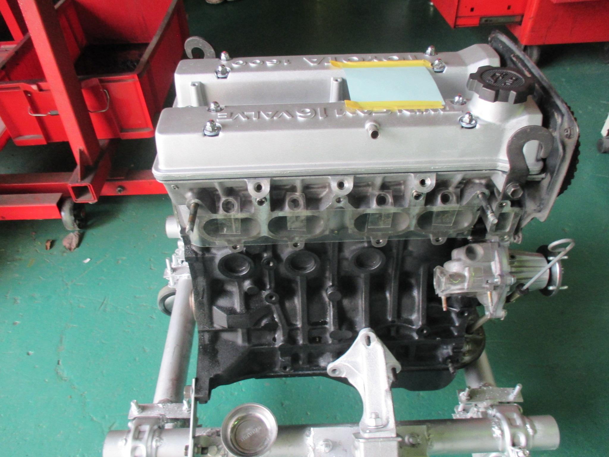 AE86 リビルトエンジン