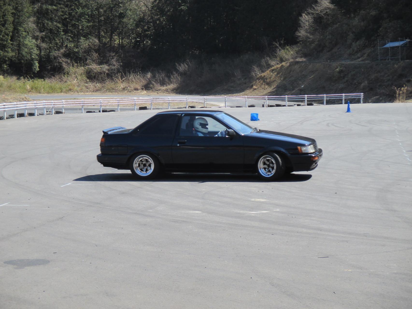 AE86 中古車 テスト走行
