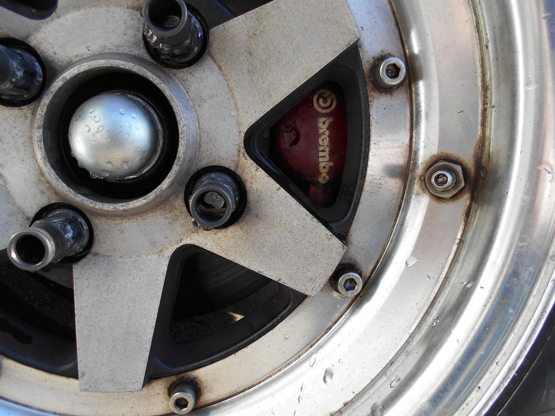 AE86ブレンボキャリパー