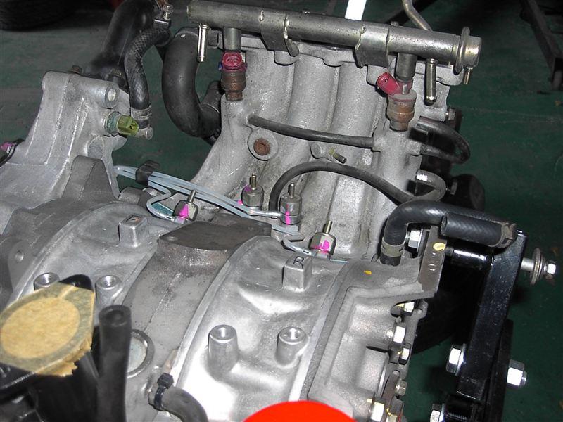 FC3Sリビルトエンジン