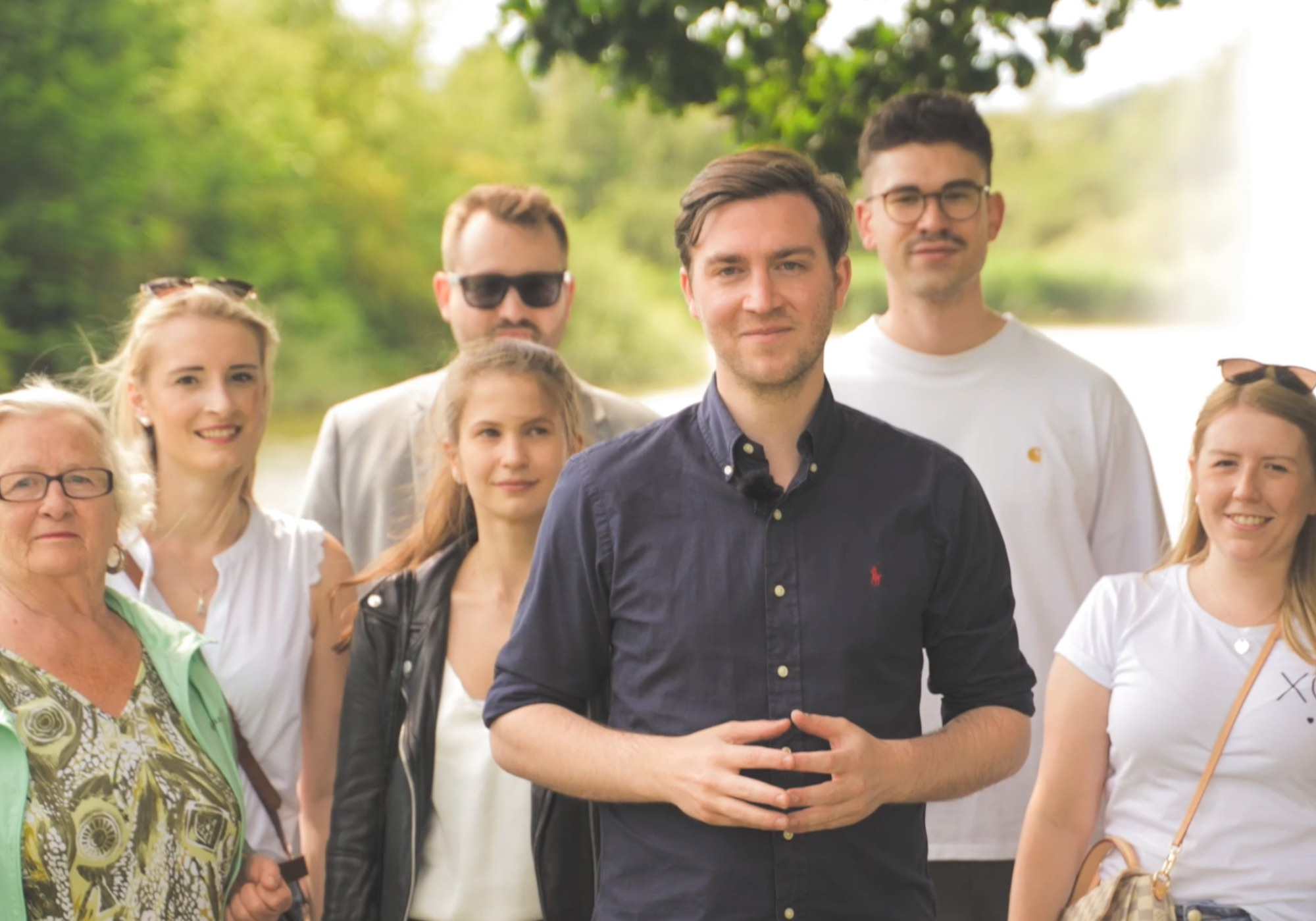 Frederik Bouffier will OB von Gießen werden. Wir produzieren den Wahlspot.