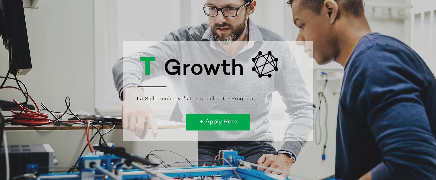 Sesiones Corporate del Programa T-GROWTH IoT LA SALLE TECHNOVA (Nov'21)