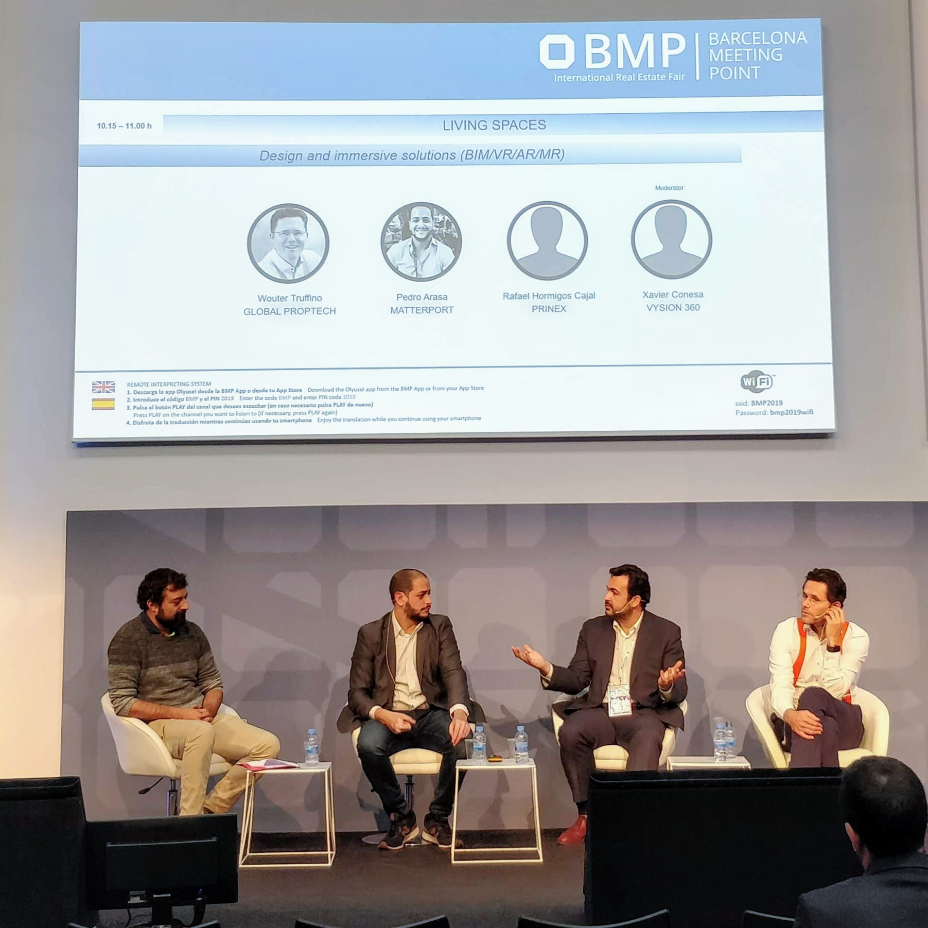 Xavi Conesa; Pedro Arasa; Rafael Hormigos; Woulter Truffino