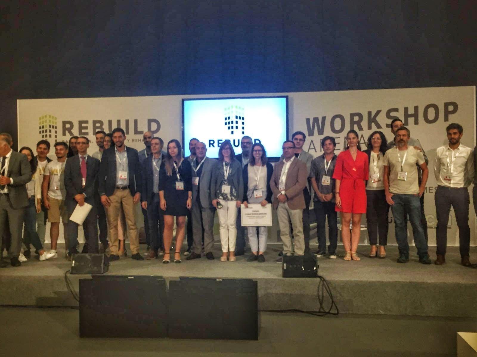 Ganadores del Construction Tech Startup Forum REBUILD'18