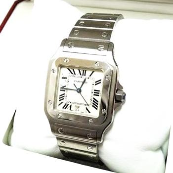 カルティエ サントスガルベLM 腕時計