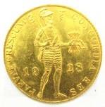 AU983オランダ ダカット 甲冑姿の騎士 1Ducat  金貨 コイン