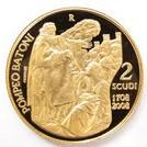 K21.6 21.6金  2スクード金貨 コイン サンマリノ共和国 2008年