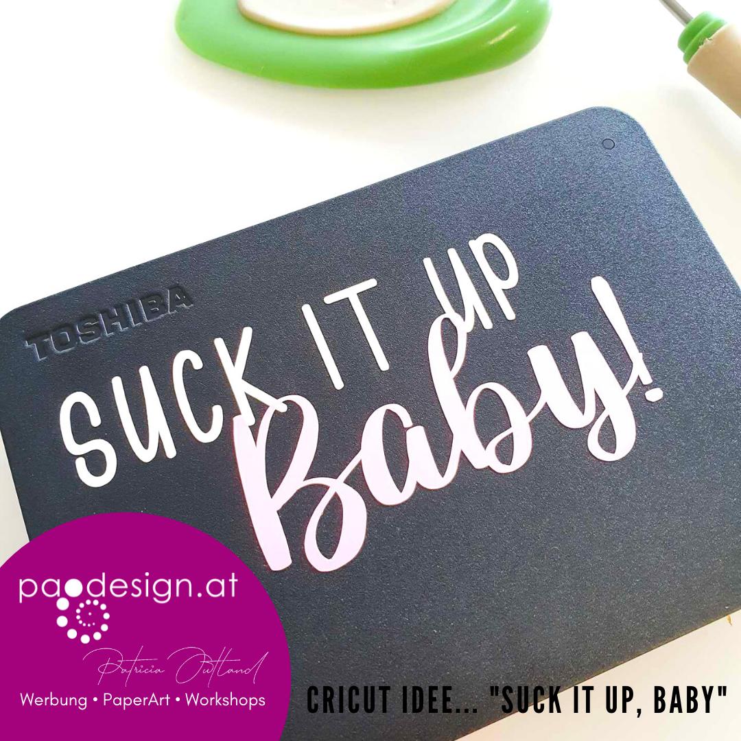 """#StampinUp Ratsch & Create 24/2021 """"Suck it up, Baby!"""""""