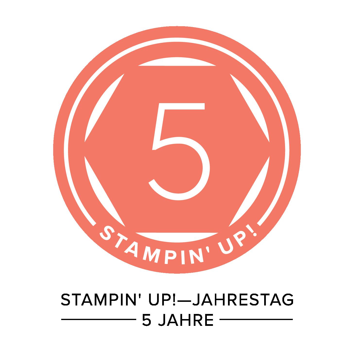 Mein 5-Jahres-Jubiläum bei Stampin' UP!