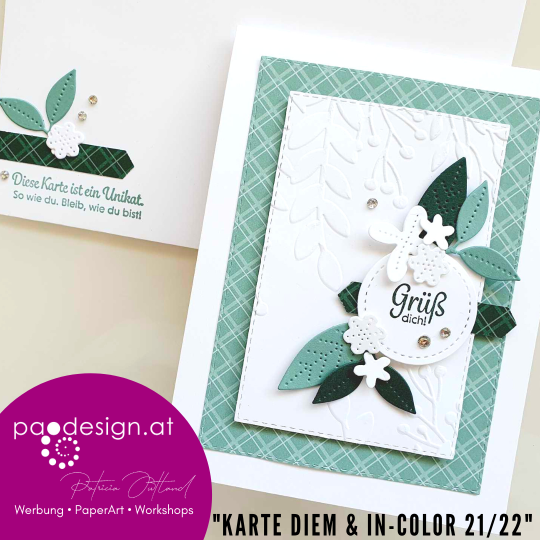 "#StampinUp Ratsch & Create 21/2021 ""Karte Diem & In-Color 21/22"""