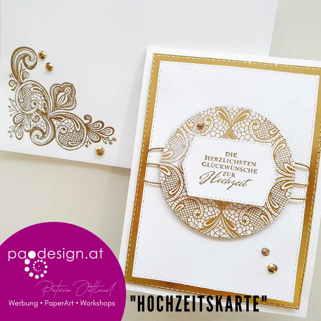"""#StampinUp Ratsch & Create 26/2021 """"Hochzeitskarte"""""""