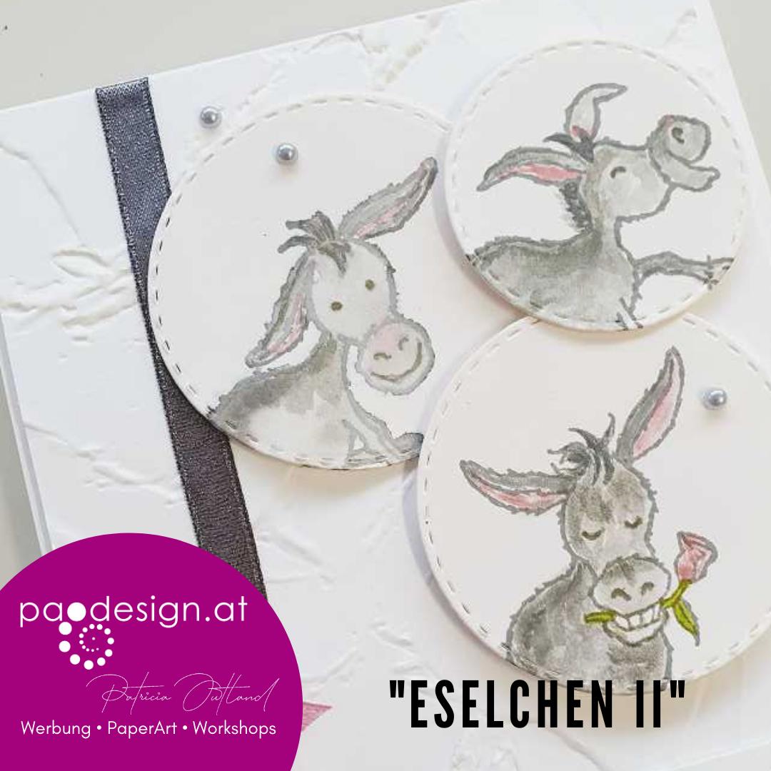 """Sale-A-Bration Karte """"Eselchen II"""""""