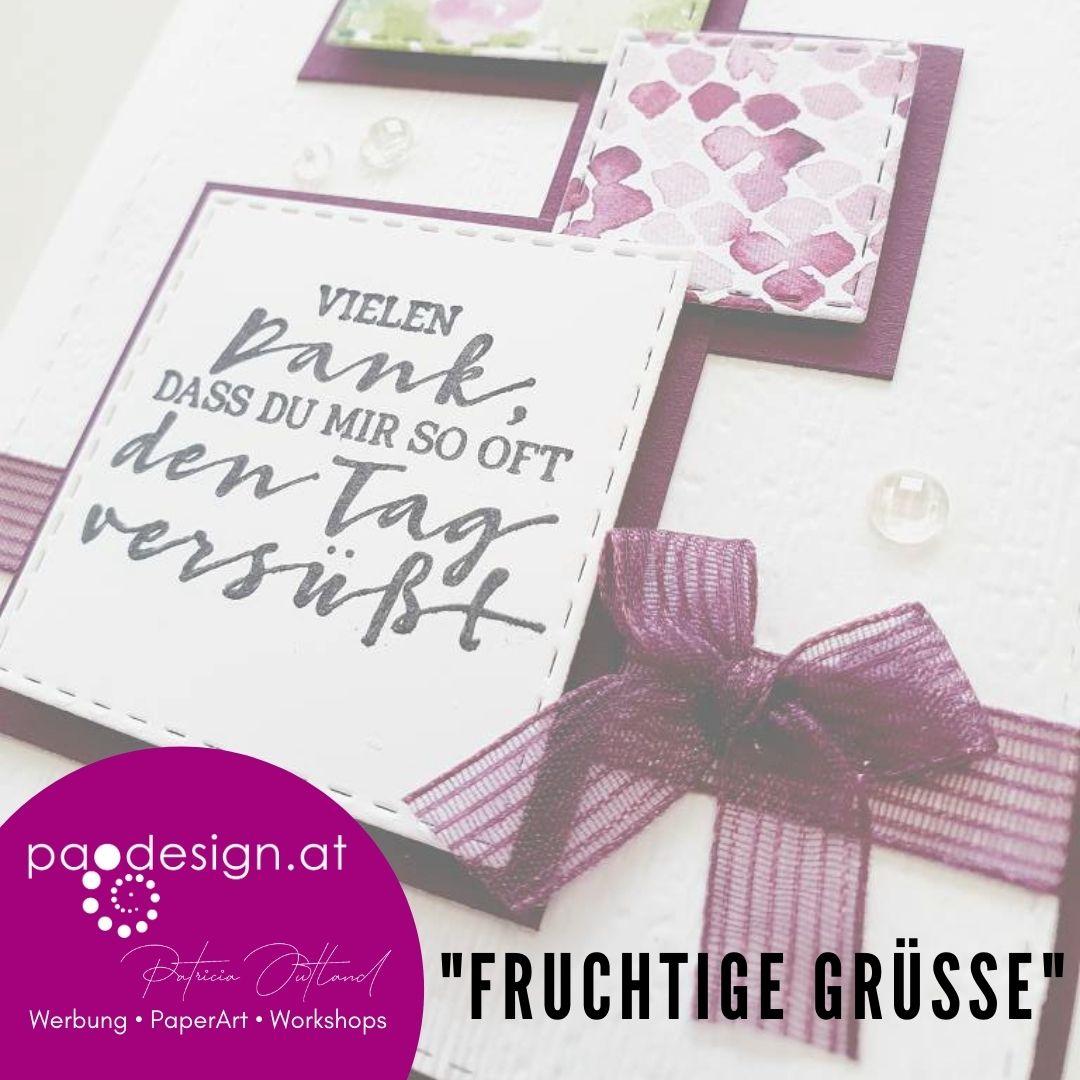 "Sale-A-Bration Karte ""Fruchtige Grüße 1"""