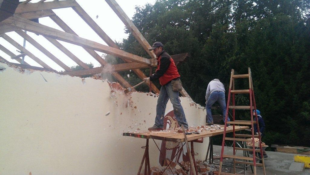 Umbau Feuerwehrgerätehaus KW 41 2013