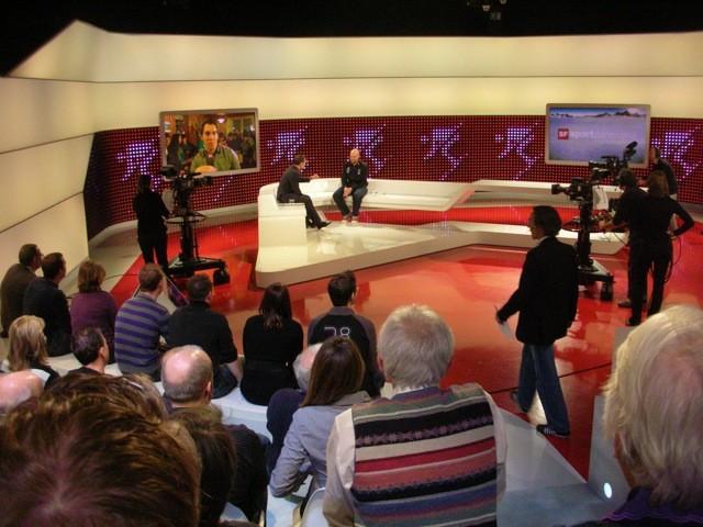 Sportpanorma live mit Marco Büchel und Carlo Janka als Studiogäste.