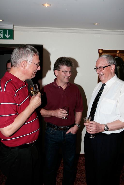 Daniel Bächtold, Stefan Ragaz und Josef Ritler.