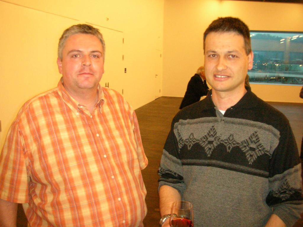 Martin Uebelhart (links) und Alexander Dietz.