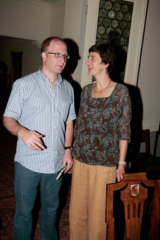 Der Präsident und die Sekretärin: Dominik Buholzer und Monika Hame Buholzer.